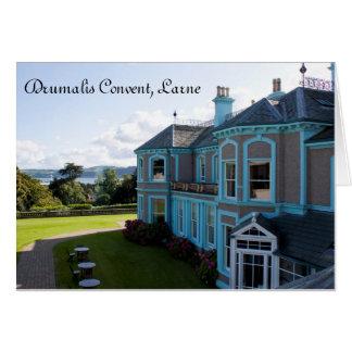 Drumalis Convent, Larne, Greeting Card