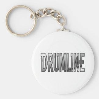 Drumline Chrome Keychain