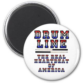 Drumline Heart Beat 6 Cm Round Magnet
