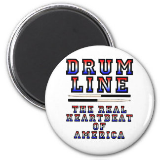 Drumline Heart Beat Fridge Magnets