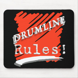 Drumline rules mouse mat