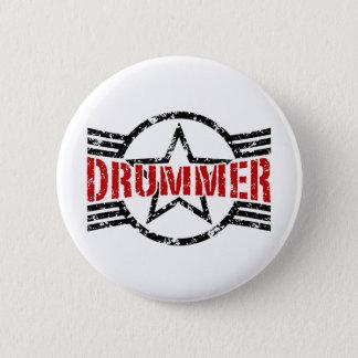 Drummer 6 Cm Round Badge
