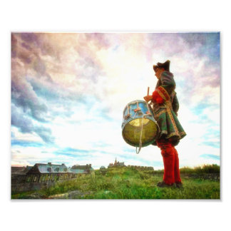 Drummer at the Fortress of Louisbourg Photograph