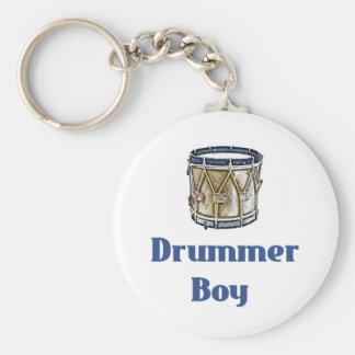 Drummer Boy Key Ring