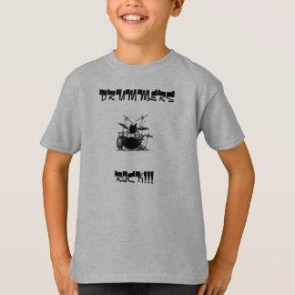 Drummer, DRUMMERS, ROCK!!! Tee Shirts
