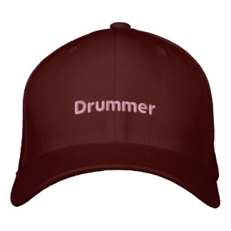 Drummer Embroidered Hats