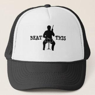 Drummer feel the beat cap