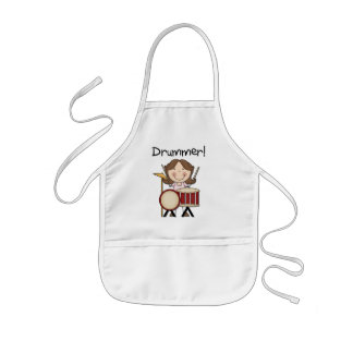 Drummer - Female Tshirts and Gifts Aprons