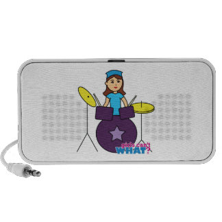 Drummer Girl Mp3 Speaker