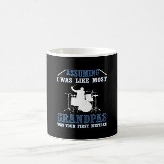 DRUMMER  GRANDPAS COFFEE MUG