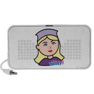 Drummer Head Light Blonde Portable Speaker