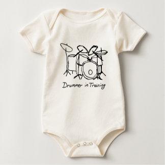 Drummer in Training Baby Bodysuit
