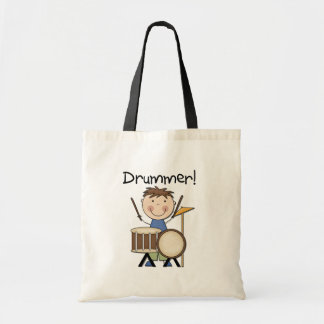 Drummer - Male Tshirts and Gifts Tote Bag
