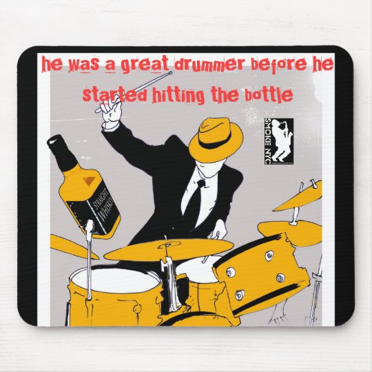 Drummer Mouse Pad