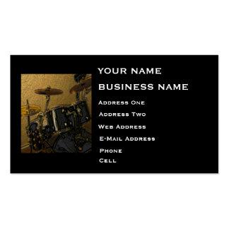 Drummer - Music Business Card