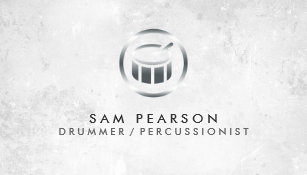 Drummer business cards business card printing zazzle uk drummer percussionist drum icon business card colourmoves