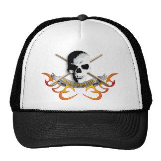 Drummer skull C Cap