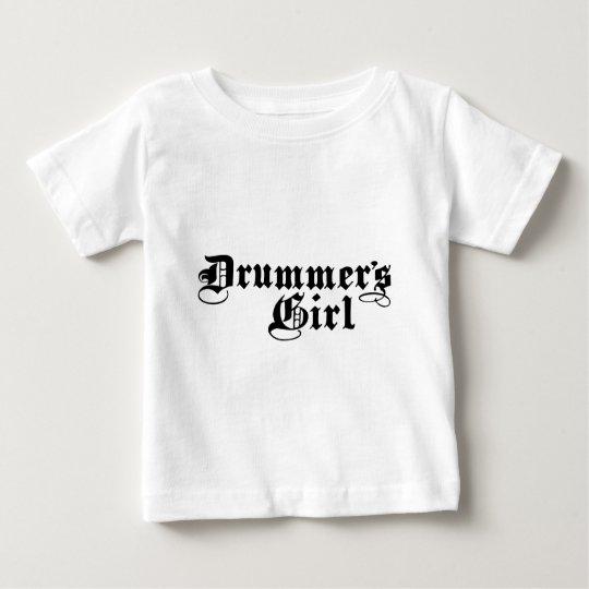 Drummer's Girl Baby T-Shirt