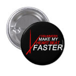 Drummers Make My Heart Beat Faster 3 Cm Round Badge