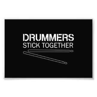 Drummers Stick Together Art Photo