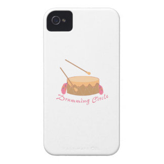 Drumming Circle Case-Mate iPhone 4 Cases