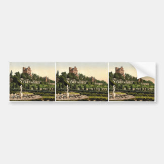 Drummond Castle from S.W. (i.e., Southwest), Scotl Bumper Sticker