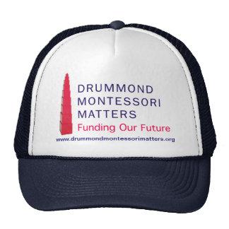 Drummond Montessori Matters Hat