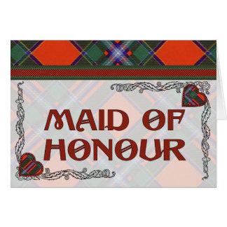 Drummond Scottish Tartan Greeting Card