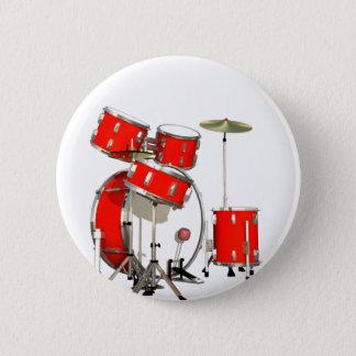 Drums 6 Cm Round Badge