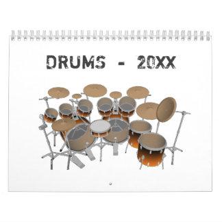 Drums Calendar