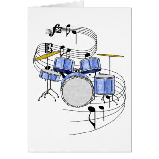 Drums Card
