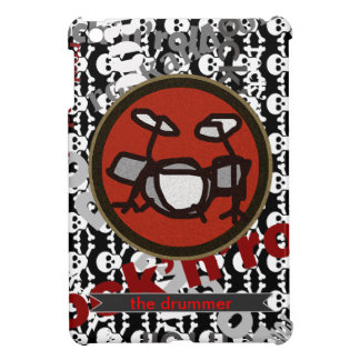 drums cool design iPad mini covers