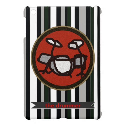 drums, drumming gifts case for the iPad mini