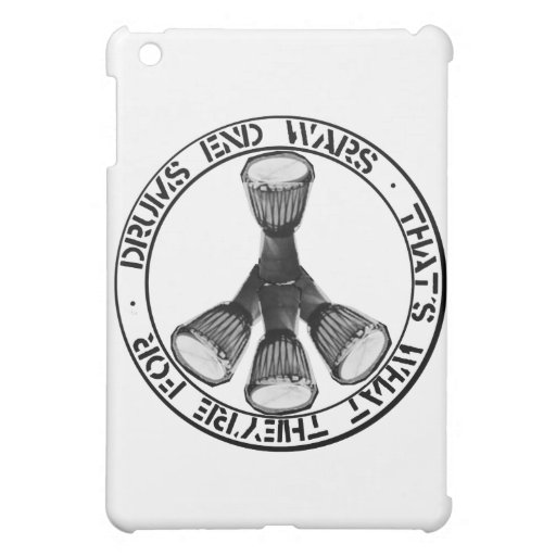 DRUMS END WARS iPad MINI COVERS