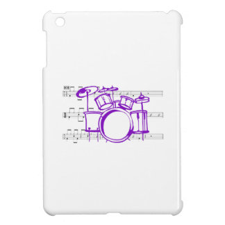DRUMS FULL BACK COVER FOR THE iPad MINI