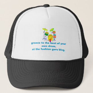 drums, groove to the beat of your own drum,at t... trucker hat