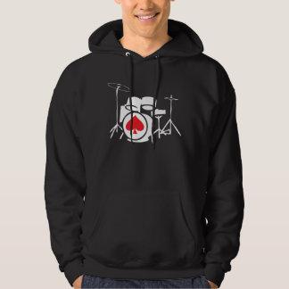 Drums Hoodie Dark