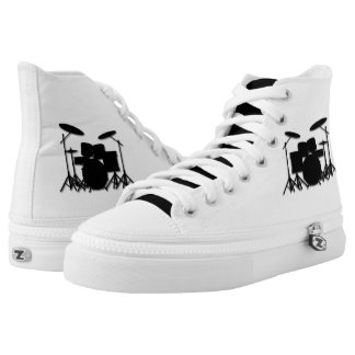Drums Music Design Personal High Tops