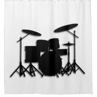 Drums Music Design Shower Curtain