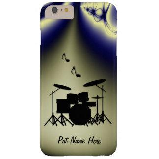 Drums Music Design Shower Curtain Barely There iPhone 6 Plus Case