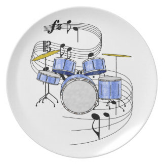 Drums Plate
