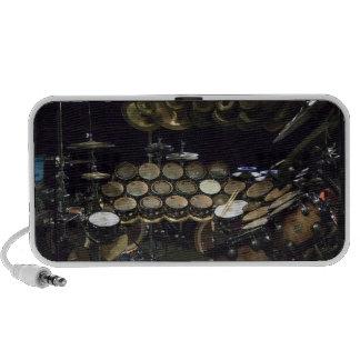 Drums power iPhone speaker