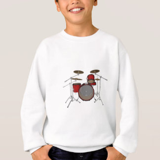 Drums: Red Drum Kit: 3D Model: Sweatshirt