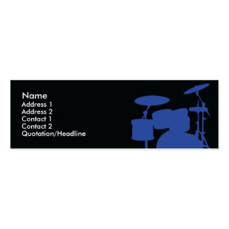 Drums - Skinny Pack Of Skinny Business Cards