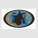 Drums the Souled Rectangle Sticker