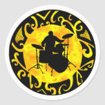 DRUMS THE SOULFULL STICKERS