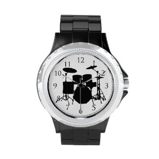 Drums With Numbers Watch