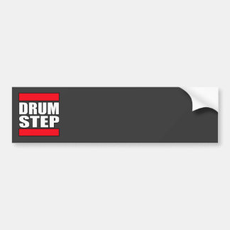 DRUMSTEP Drum and Bass and Dubstep Bumper Sticker