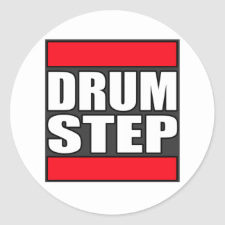 DRUMSTEP Drum and Bass and Dubstep Sticker