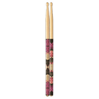 Drumsticks Marble Geometric Background G438